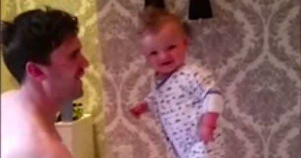 Oh Baby! Six-Month-Old's Balancing Act Makes Internet Go Wild